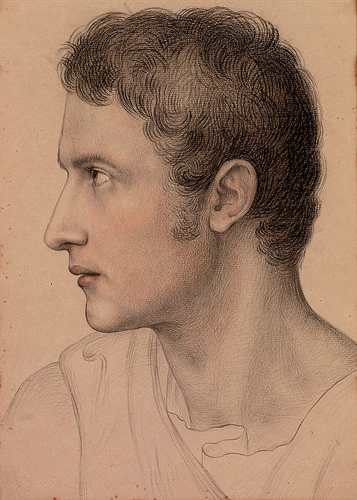 Portrait of a young man. Marie Ellenrieder [Public domain], via Wikimedia Commons