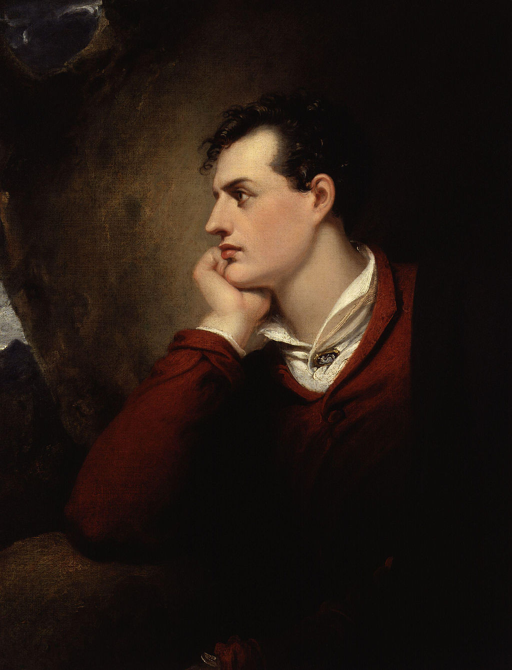 Byron was a handsome scoundrel